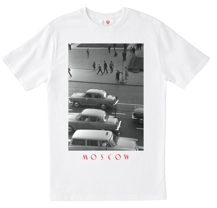 Heart of Moscow souvenir t-shirts collection
