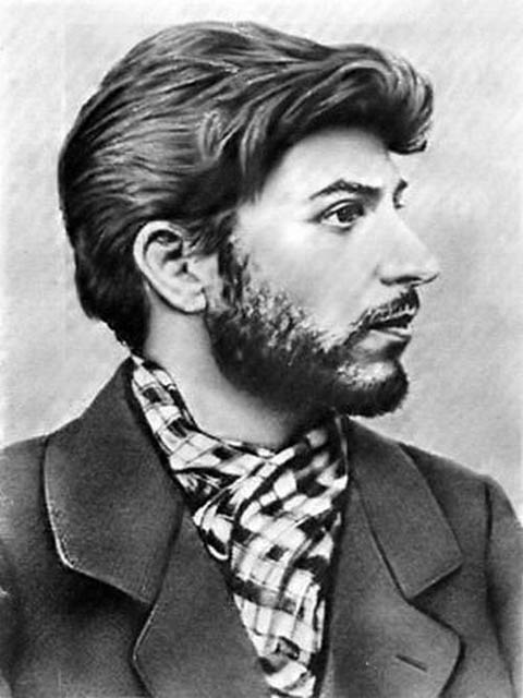 Once, Joseph Stalin was a young and handsome Georgian poet.