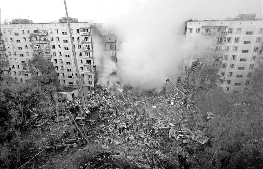 """<h2>Terror attacks</h2>  Another humourless subject. Towards the end of the decade, in 1999, there was a whole bunch of terror attacks around Russia. It started with an explosion at a market in North Ossetia in the Russian Caucasus that killed 52 in March. This was followed by bomb blasts at residential apartment blocks in Dagestan (also in the Caucasus) and at two blocks in Moscow, killing 64, 100 and 124 people respectively in September. The bloody season ended in the south, with a car bomb that killed another 19. After this, Putin said his infamous """"mochit' v sortire"""" — a phrase that has plagued translators. """"Liquefy/take out/annihilate in the outhouse"""", when it comes to terrorists, doesn't have quite the same ring in English."""