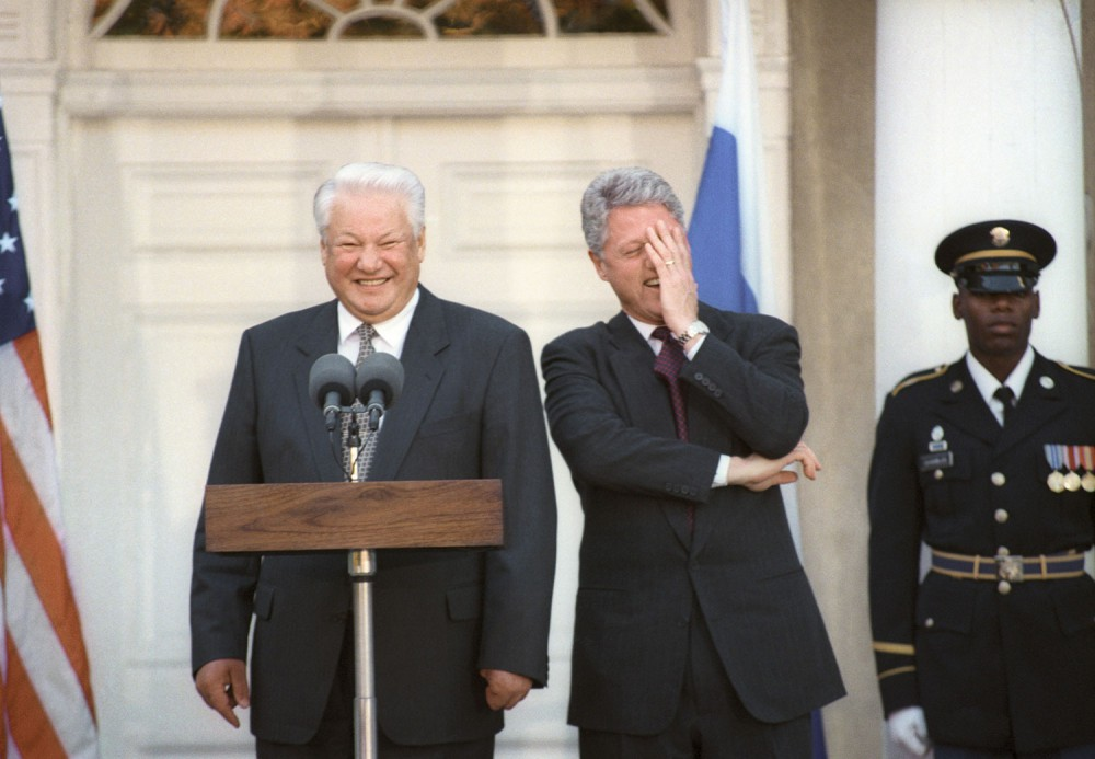 <h2>Yeltsin</h2>  The man of the decade, the first president of Russia, who came to power in 1991 on the back of the failed August putsch. A pseudo-referendum was conducted under Yeltsin in 1993, after which the Russian constitution, as it is now, was adopted — some say unconstitutionally. Quite the conundrum! In other fun factoids, Yeltsin had heart surgery while he was president and apparently, the first thing he did when he came around after surgery was sign a decree to get his presidential powers back from acting president, then prime minister, the legendary Viktor Chernomyrdin.