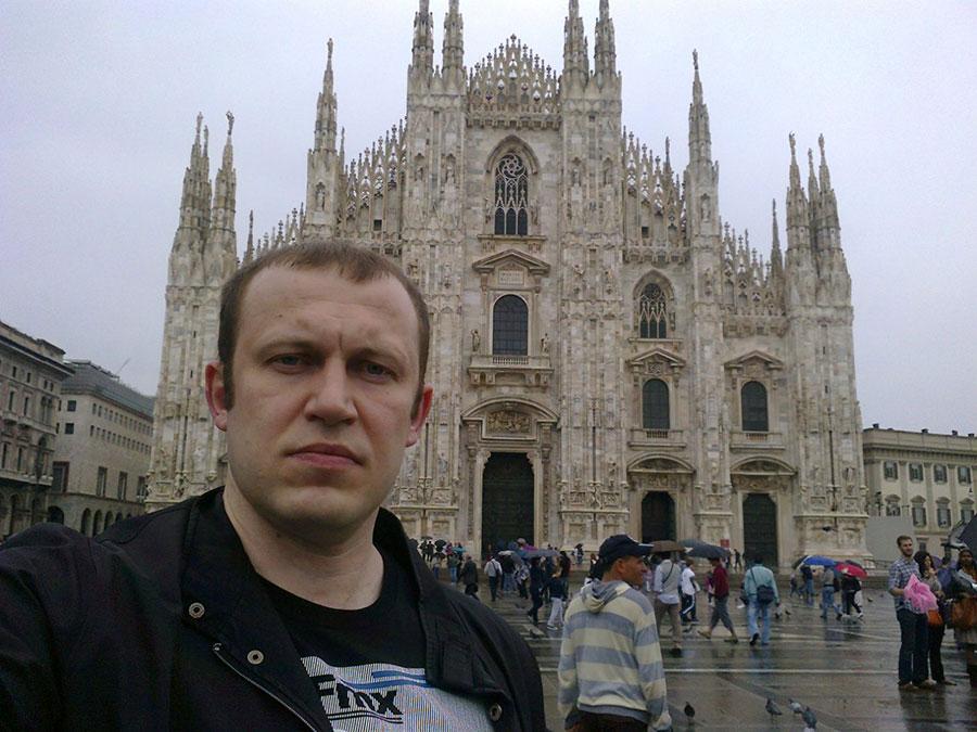 In Milan.
