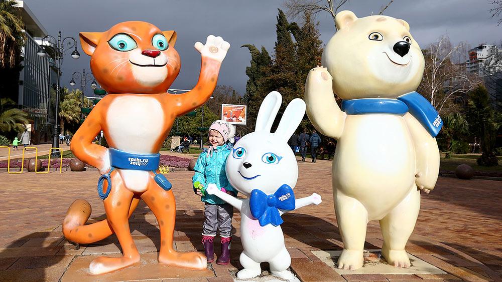 sochi olympic mascots